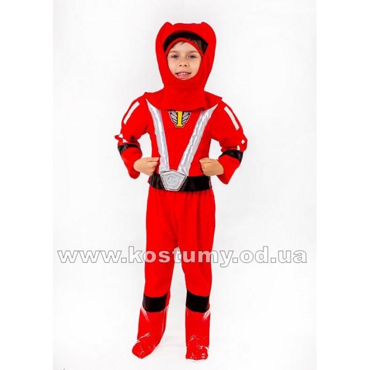 Пауэр Рейнджер красный, костюм Пауэр Рейнджерс, костюм Power Rangers
