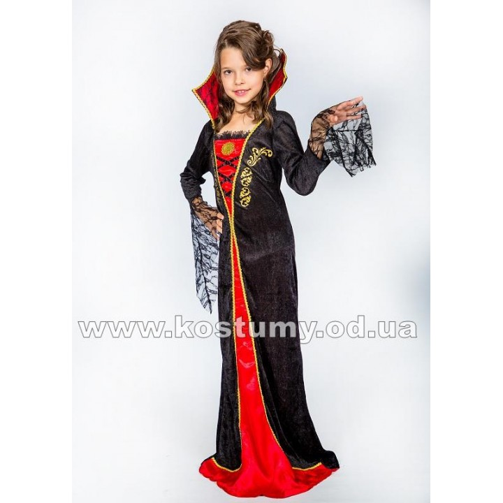 Вампирша, костюм Вампирши, рост 145-155 см