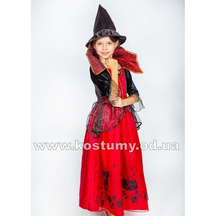 Ведьма 6, Ведьмочка, Вампирша, костюм Ведьмы, костюм Ведьмочки, костюм Вампирши