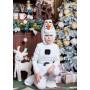 """Снеговик Олаф, Олаф, костюм Снеговика, костюм Олафа, костюм Снеговика Олафа, м/ф """"Холодное сердце"""", рост 120-140 см"""