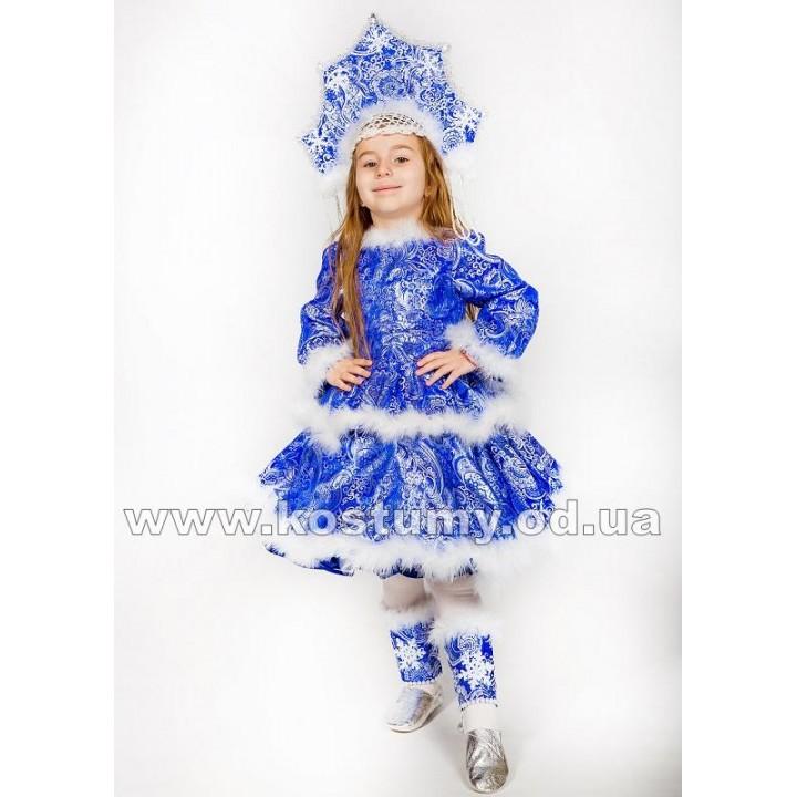 Снегурочка Сказочная, Снегурочка, костюм Снегурочки