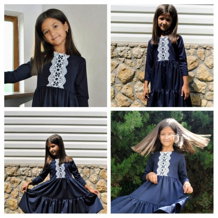 Школьная форма для девочек, платье школьное, купить школьное платье, р-р 116, 122, 128, 134