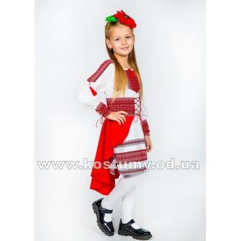 Украиночка 2, украинский костюм, костюм в украинском стиле, костюм в национальном стиле