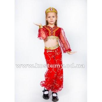 Восточная Красавица бордо, Восточный костюм, костюм Восточной Красавицы