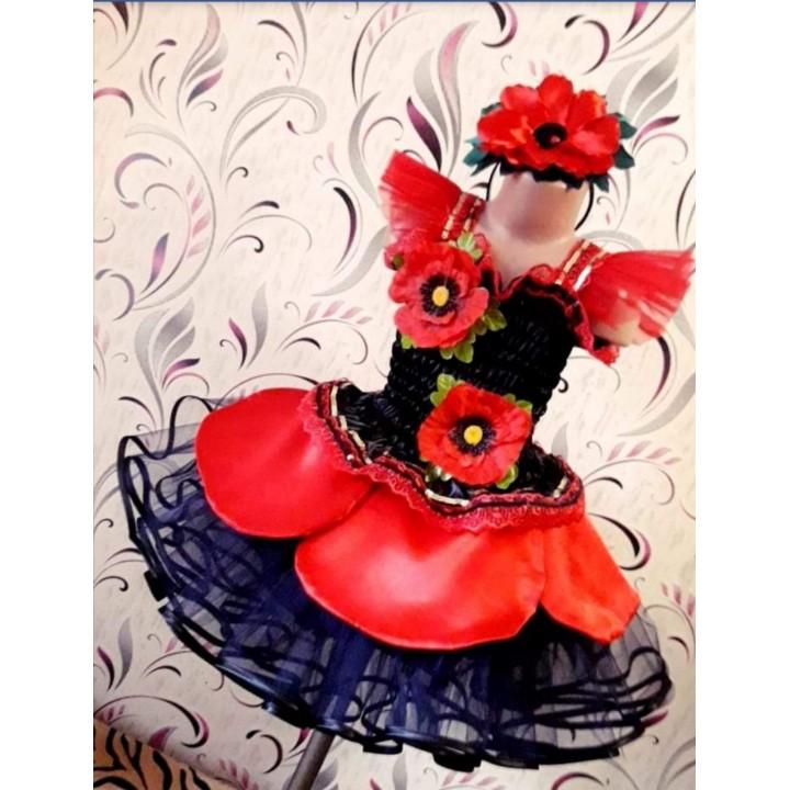 Мак 1, Цветочек, костюм Цветочка, костюм Мака для девочек