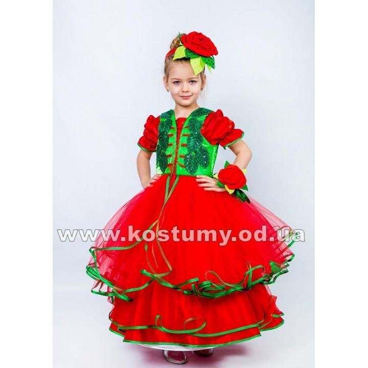 Роза, Алая Роза, Красная Роза, Цветочек, костюм Розы, костюм Красной Розы, костюм Алой Розы, костюм Цветочка