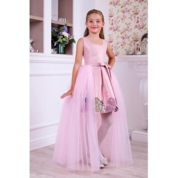 Выпускное платье модель ЛИЛУ, платье трансформер на выпускной в сад, выпускное платье трансформер