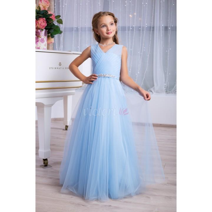 Выпускное платье модель ОДРИ, платье на выпускной, бальное платье в стиле Ампир