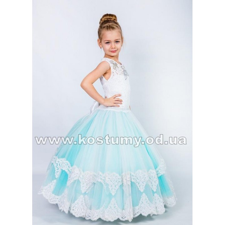 Выпускное платье в сад ВАЛЕНСИЯ, бальное платье, детское платье на свадьбу