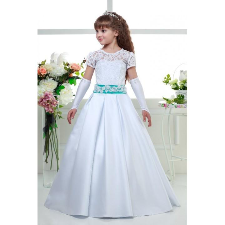 Платье бальное ВАЛЕРИЯ, платье выпускное, детское платье на свадьбу, платье на фотосессию, рост 118-126 см, 128-136 см