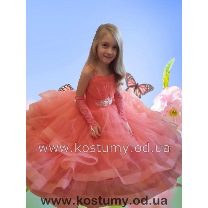 Платье бальное, платье выпускное, пышное платье, нарядное платье, модель МАРГАРИТА, рост от 116 см