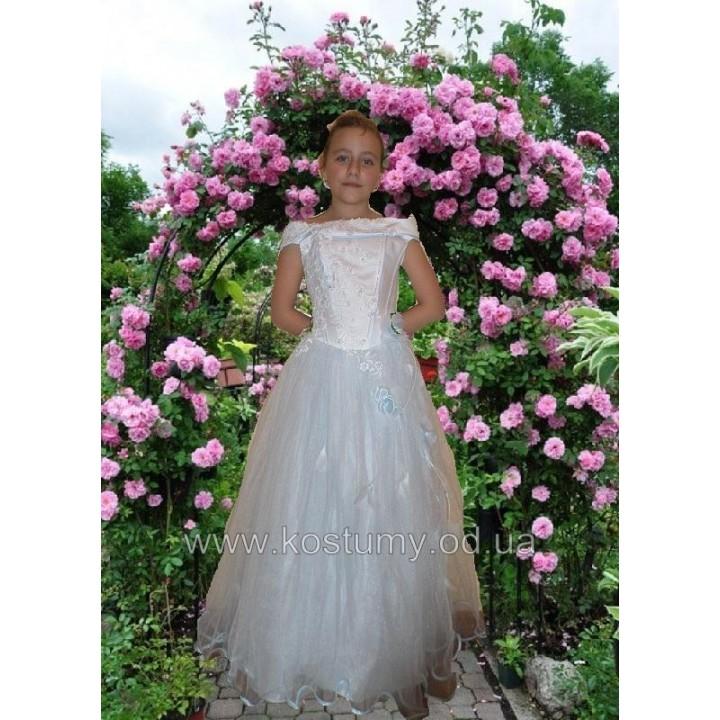 Платье бальное, платье выпускное БОГДАНА, рост от 134 см