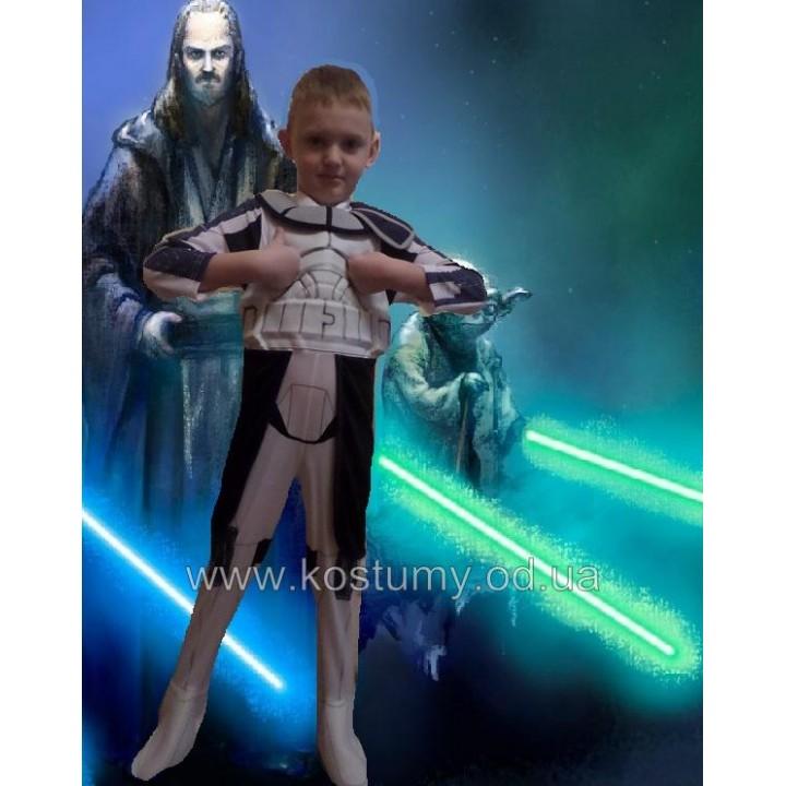 КЛОН, КОСТЮМ КЛОНА, КОСТЮМ ЗВЕЗДНЫЕ ВОЙНЫ, КОСТЮМ Clone Trooper