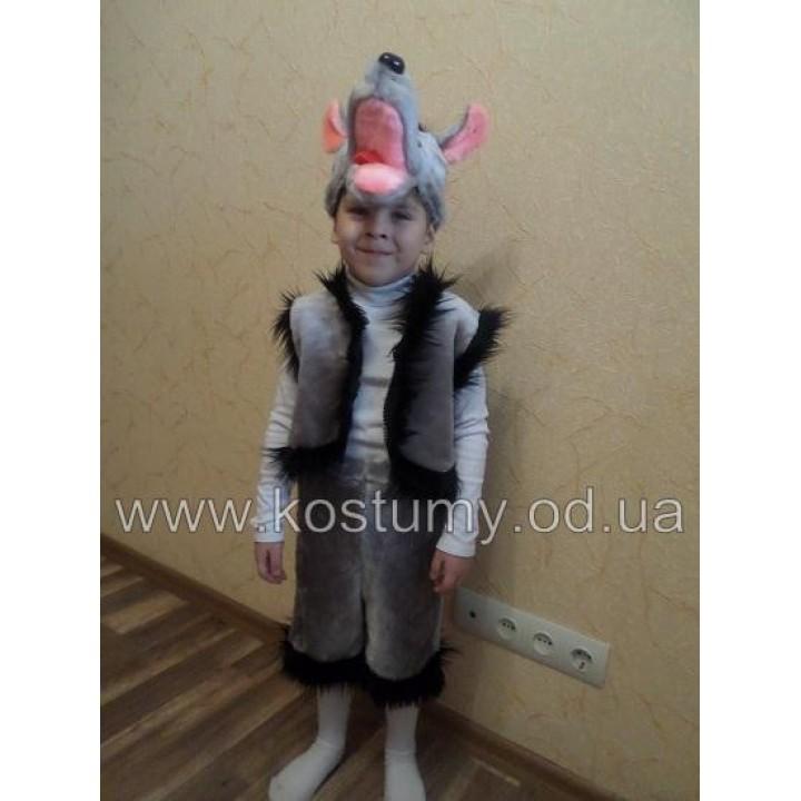 Волк Мех, костюм Волка