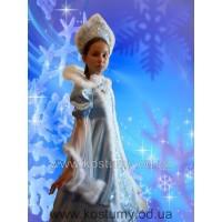 Снегурочка Царская, Зима, костюм Снегурочки, костюм Зимы, рост 140-150 см