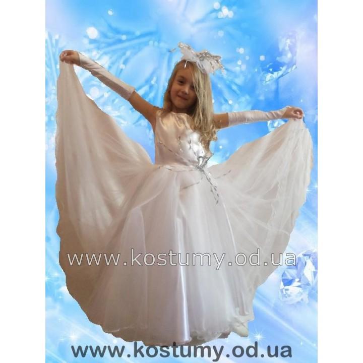 Снежинка Бальная, Зима, костюм Снежинки, костюм Зимы