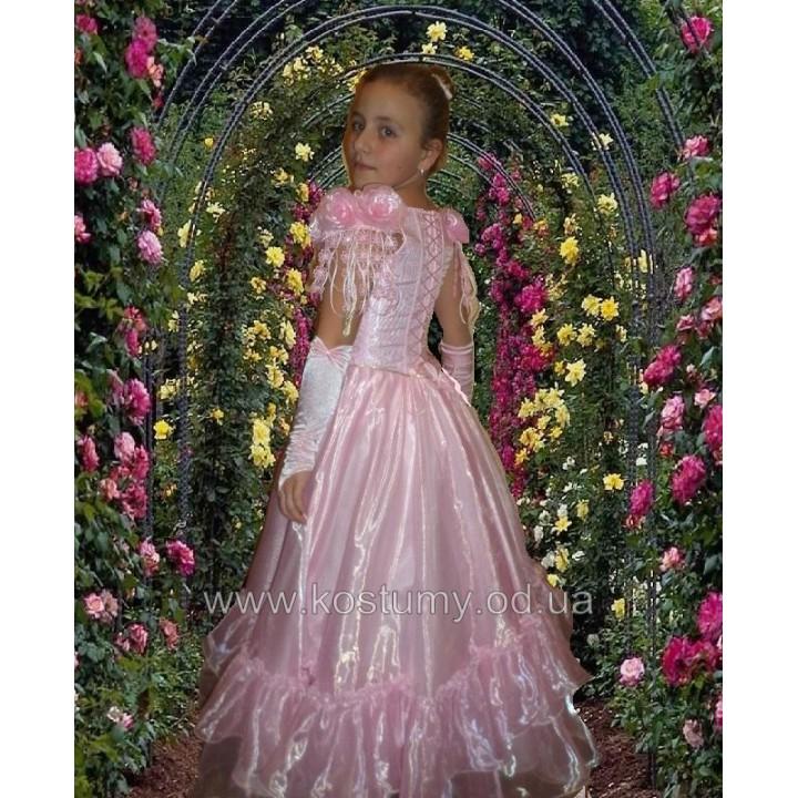 Платье бальное модель ЭРИКА, платье на выпускной в 4 класс
