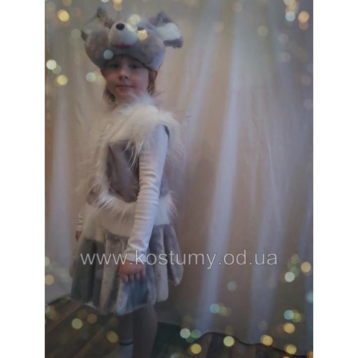 Мышка мех, костюм Мышки
