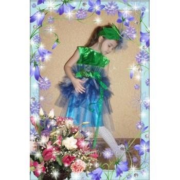 Василек, Пролесок, Цветочек. костюм василька, костюм Пролеска, костюм Цветочка