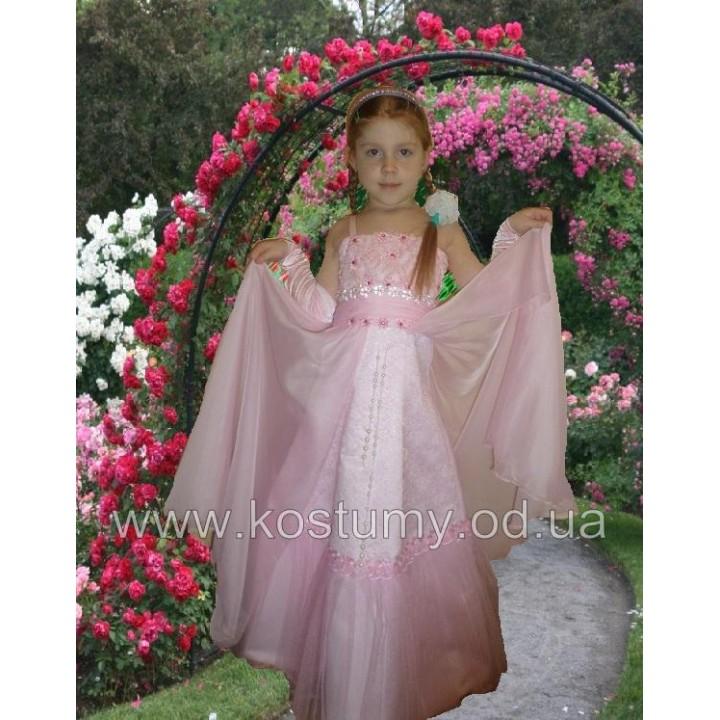 Платье бальное, детское платье на свадьбу, выпускное платье АМПИР, рост 116-135 см