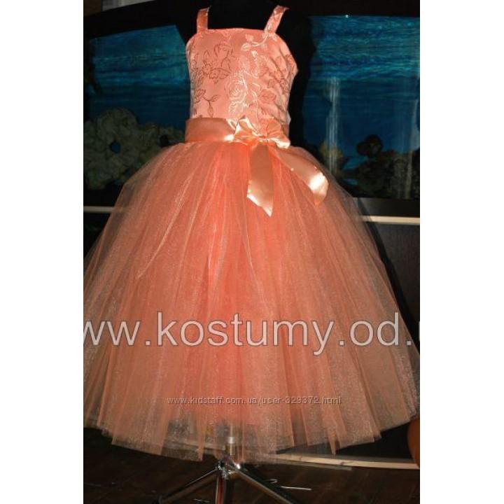 Платье выпускное в 4 класс модель КЛАРИССА, нарядное подростковое платье