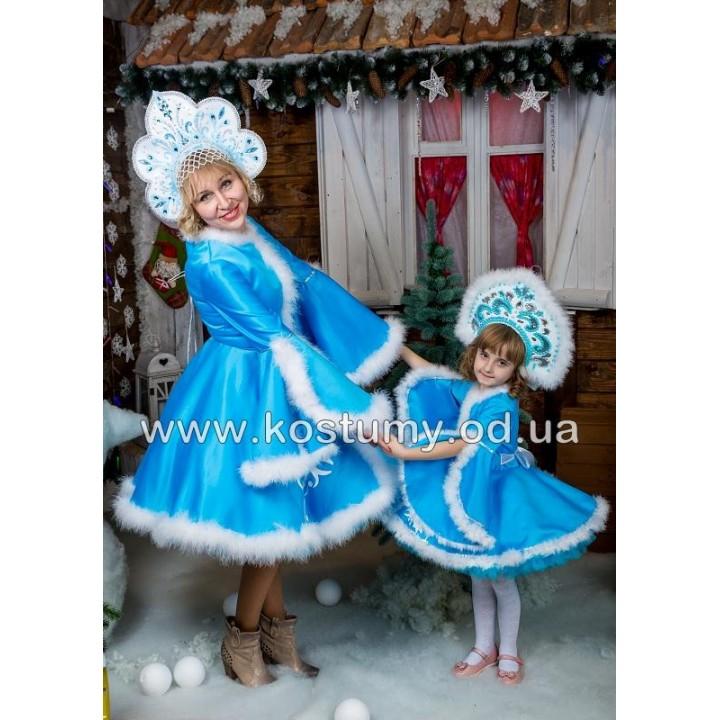 Новогодний LOOK мама и дочка, новогодний FAMILY LOOK мама и дочка, FAMILY LOOK снегурочка мама и дочка
