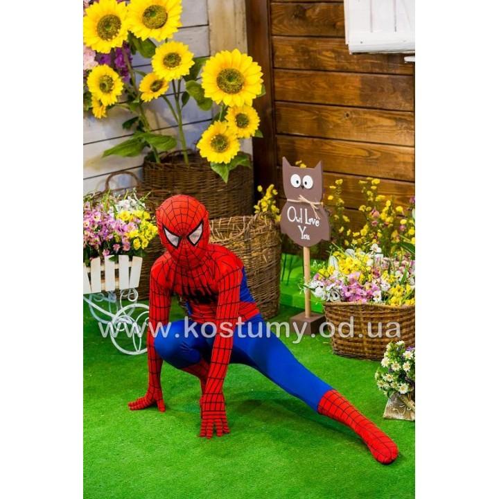 Человек Паук 1, Спайдермен, костюм Человека Паука, костюм Спайдермена, рост 116-125 см