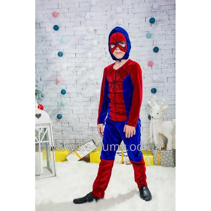 Человек Паук, Спайдермен, костюм Человека Паука, костюм Спайдермена, 5-7 лет