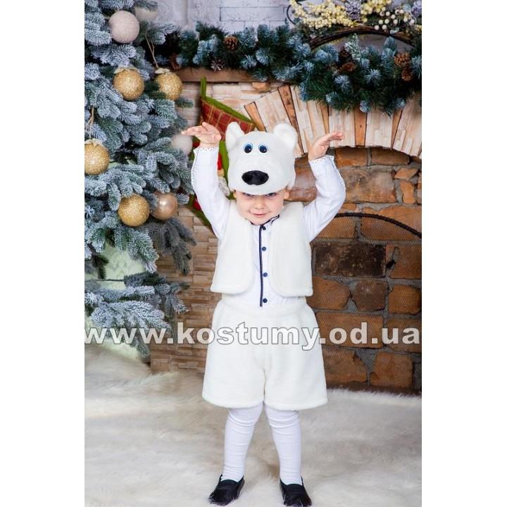 Белый мишка, Умка, костюм Белого мишки, костюм Умки, 2-5 лет