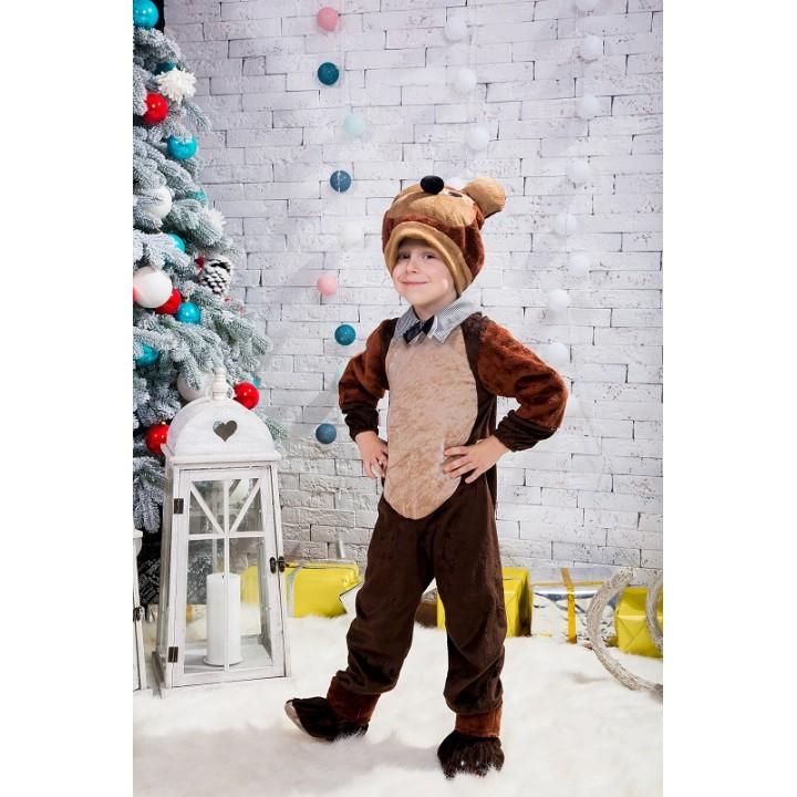Бурый Медведь, Бурый Мишка, Бурый Медвежонок, костюм Мишки, костюм Медведя, 3-6 лет