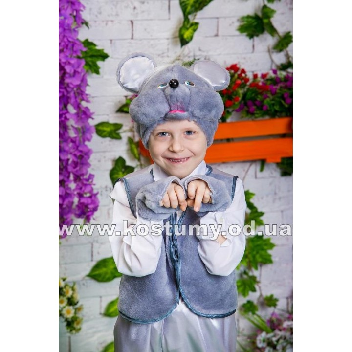 Мышонок, Мышка, костюм Мышонка, костюм Мышки для мальчиков