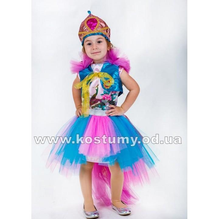 Райская Птица, Павлин, костюм Райской Птицы, костюм Павлина для девочек