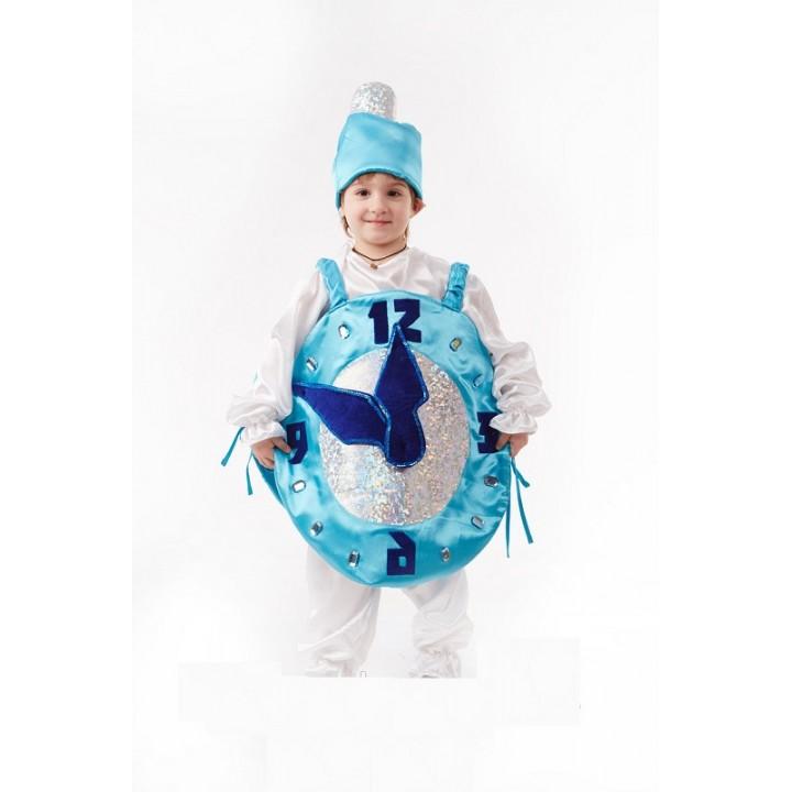 Часики, Минутка, костюм Часиков, костюм Минутки для мальчиков, рост 110-125 см