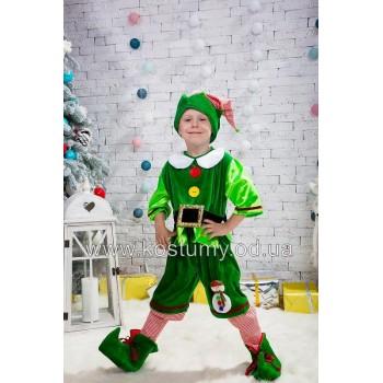 Гном Новогодний, Эльф Новогодний, Гномик, эльф, костюм Гномика, костюм Эльфа, 3-6 лет