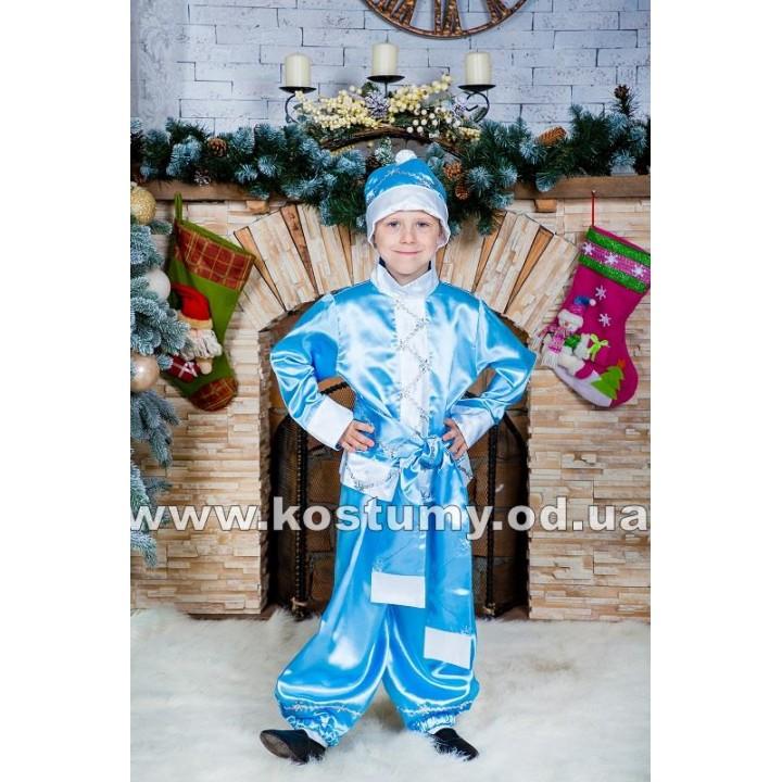Новый Год, Зимний Месяц, костюм Нового Года, костюм зимнего Месяца, рост 116-130 см