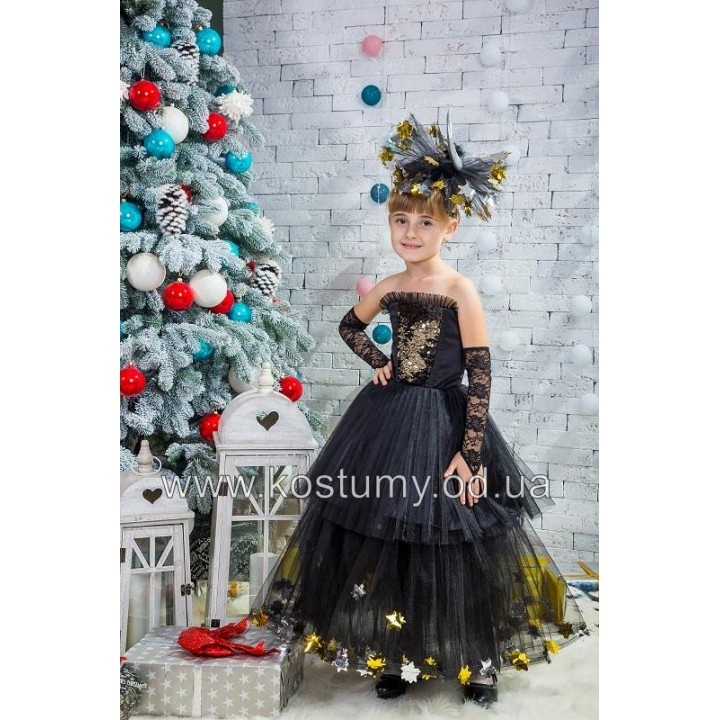Ночь, Новогодняя ночь, Звезда, костюм Ночи, костюм Новогодней ночи, костюм Звезды