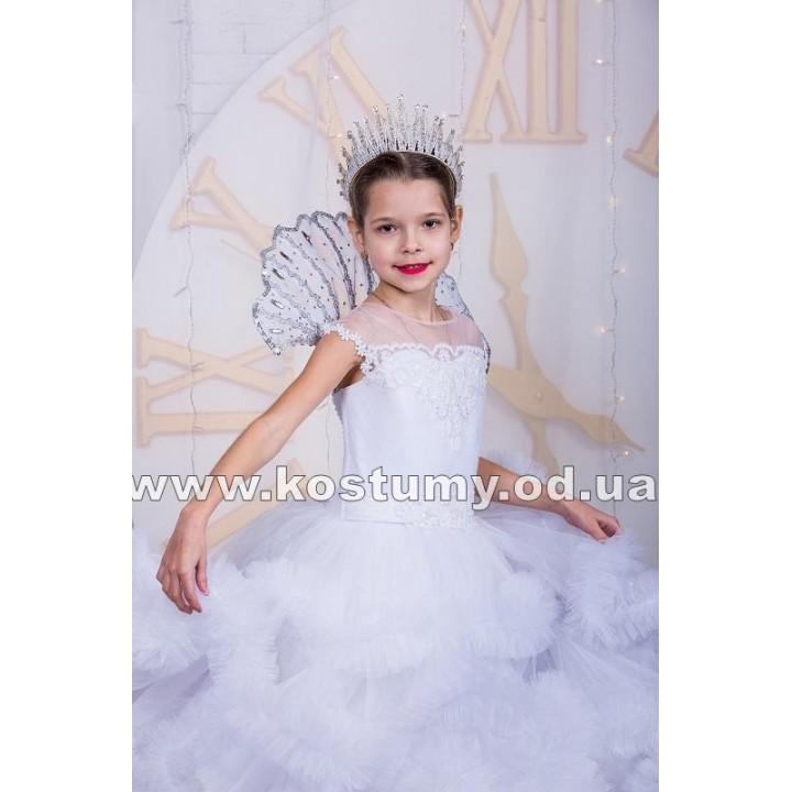 Снежная Королева Бальная, Зима Бальная, костюм Снежной Королевы, костюм Зимы, рост 135-150 см