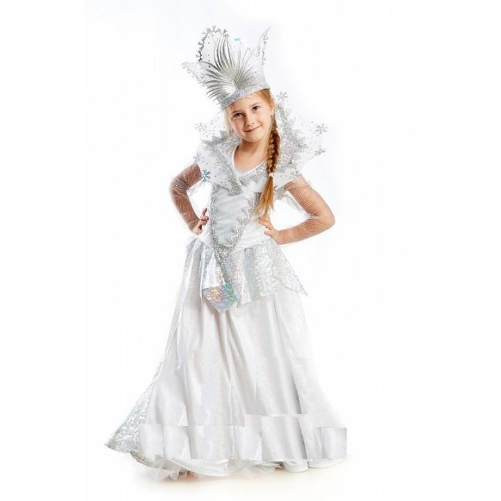 Снежная Королева, костюм Снежной Королевы, рост 128-140 см