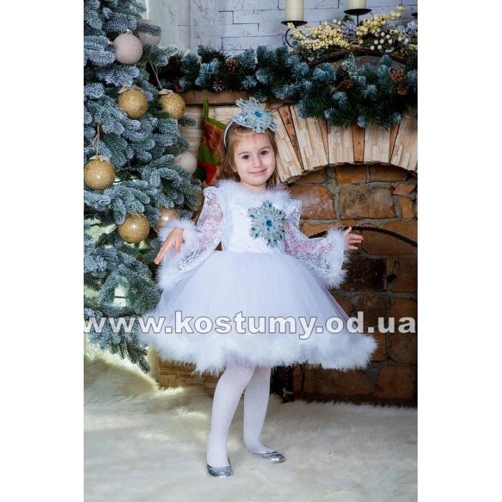 Снежинка малышка, Снежинка, костюм Снежинки, рост 95-110 см