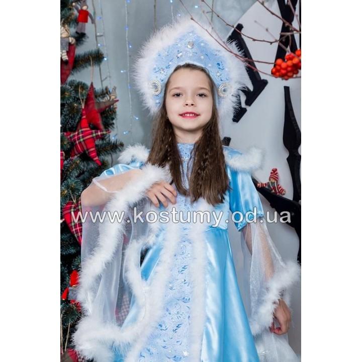 Снегурочка Царская, Зима, костюм Снегурочки, костюм Зимы, рост 115-124 см