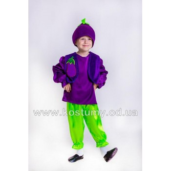 Баклажан 1, костюм Баклажана, костюм Баклажанчика