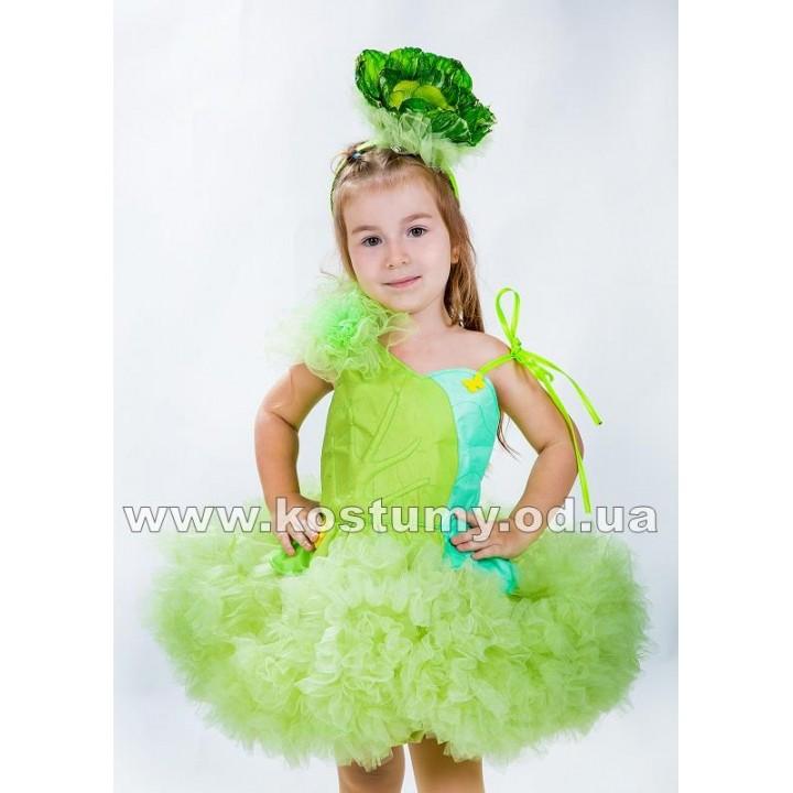 Капуста 1, костюм Капусты для девочек