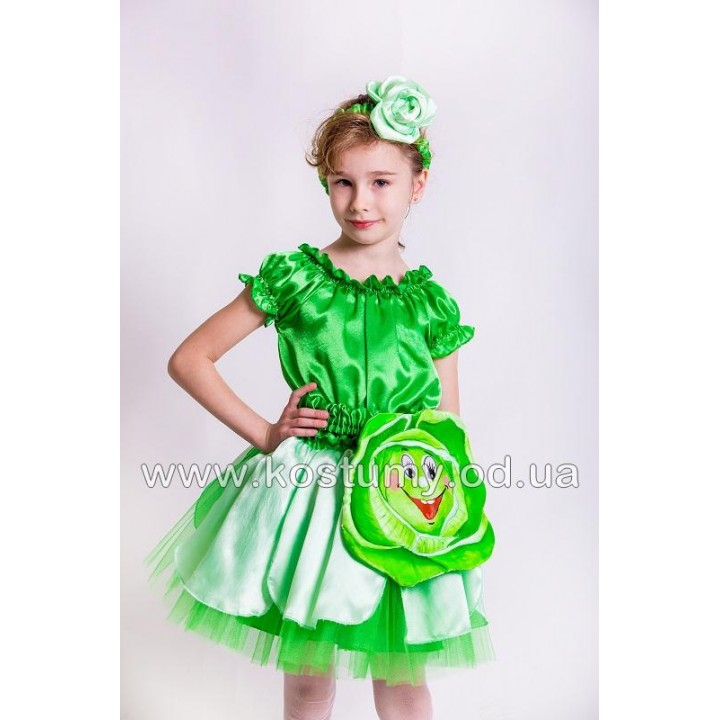 Капуста, костюм Капусты, костюм Капусты для девочек