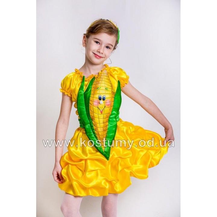 Кукуруза, Кукурузка, костюм Кукурузы, костюм Кукурузки для девочек