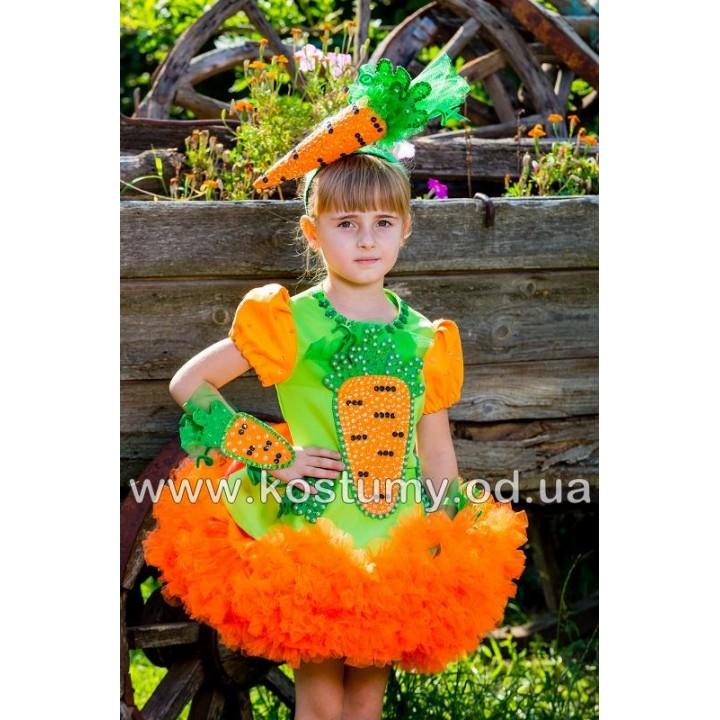 Морковка, Морковочка, костюм Морковки, костюм Морковочки для девочек