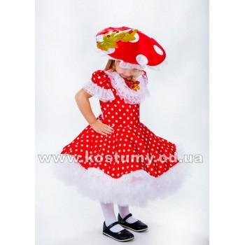 Гриб Мухомор Малышка, гриб Мухоморчик, костюм Грибочка, костюм Мухоморчика