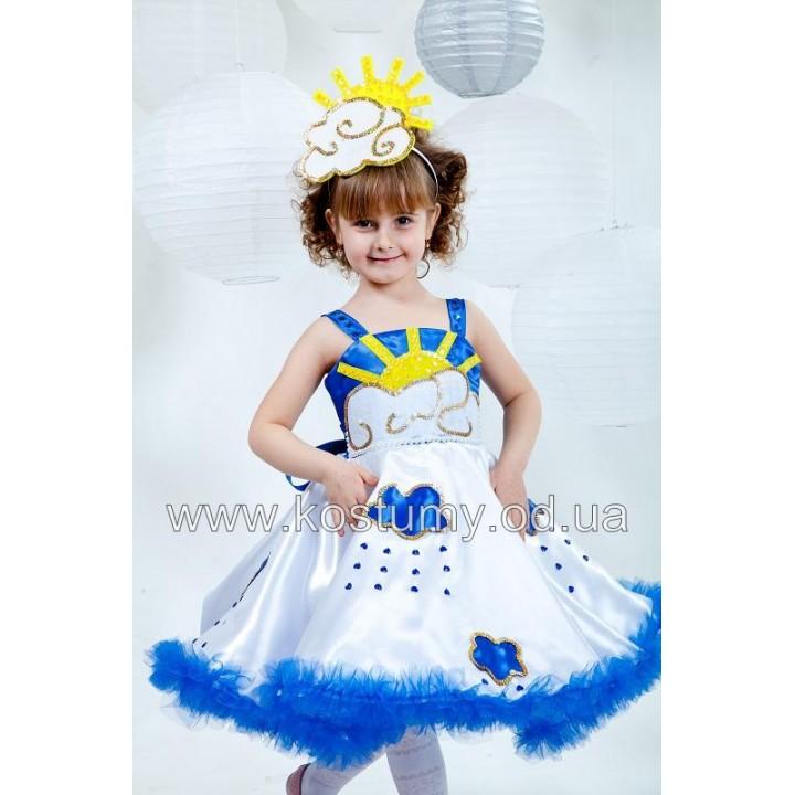 Тучка, Облако, костюм Тучки, костюм Облака для девочек