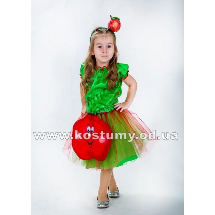 Яблоко, Яблочко, костюм Яблока, костюм Яблочка для девочек
