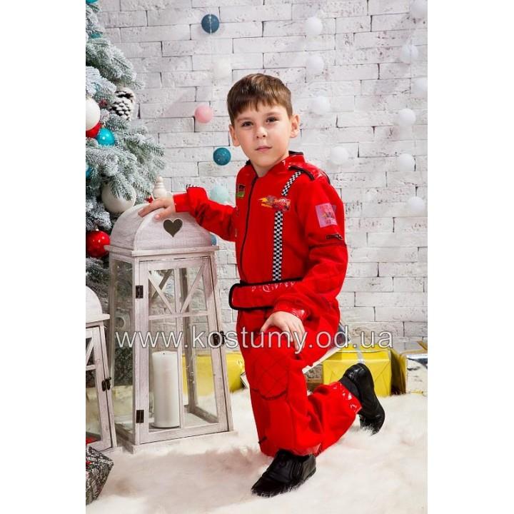 Автогонщик, Гонщик, костюм Автогонщика, костюм Гонщика, рост 125-135 см