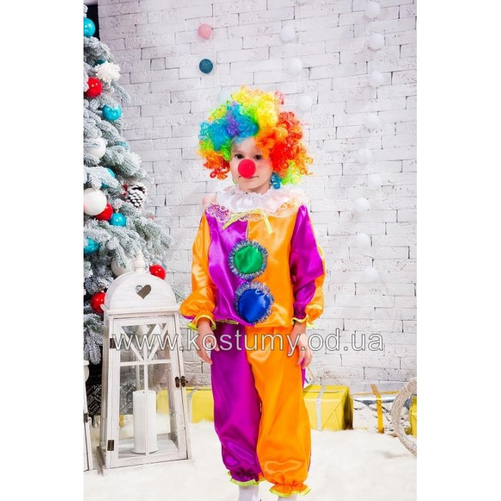 Клоун, костюм Клоуна для мальчиков